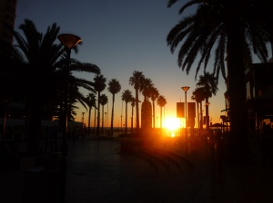 Sunset at Moseley Square, Glenelg