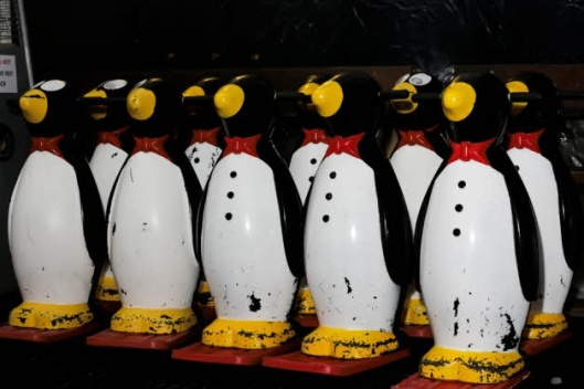 Penguins to help the kids