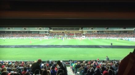 Liverpool FC. Adelaide United