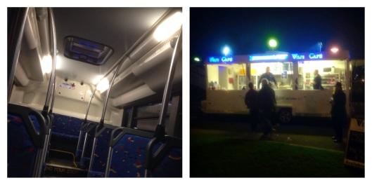 Footy bus, Vili's pies, Adelaide