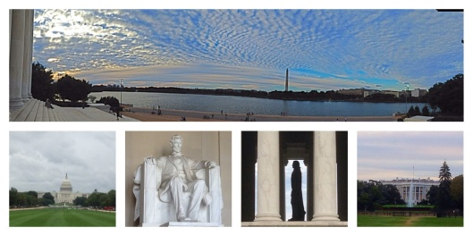 Washington DC: Lincoln, Jefferson, Capitol, White House