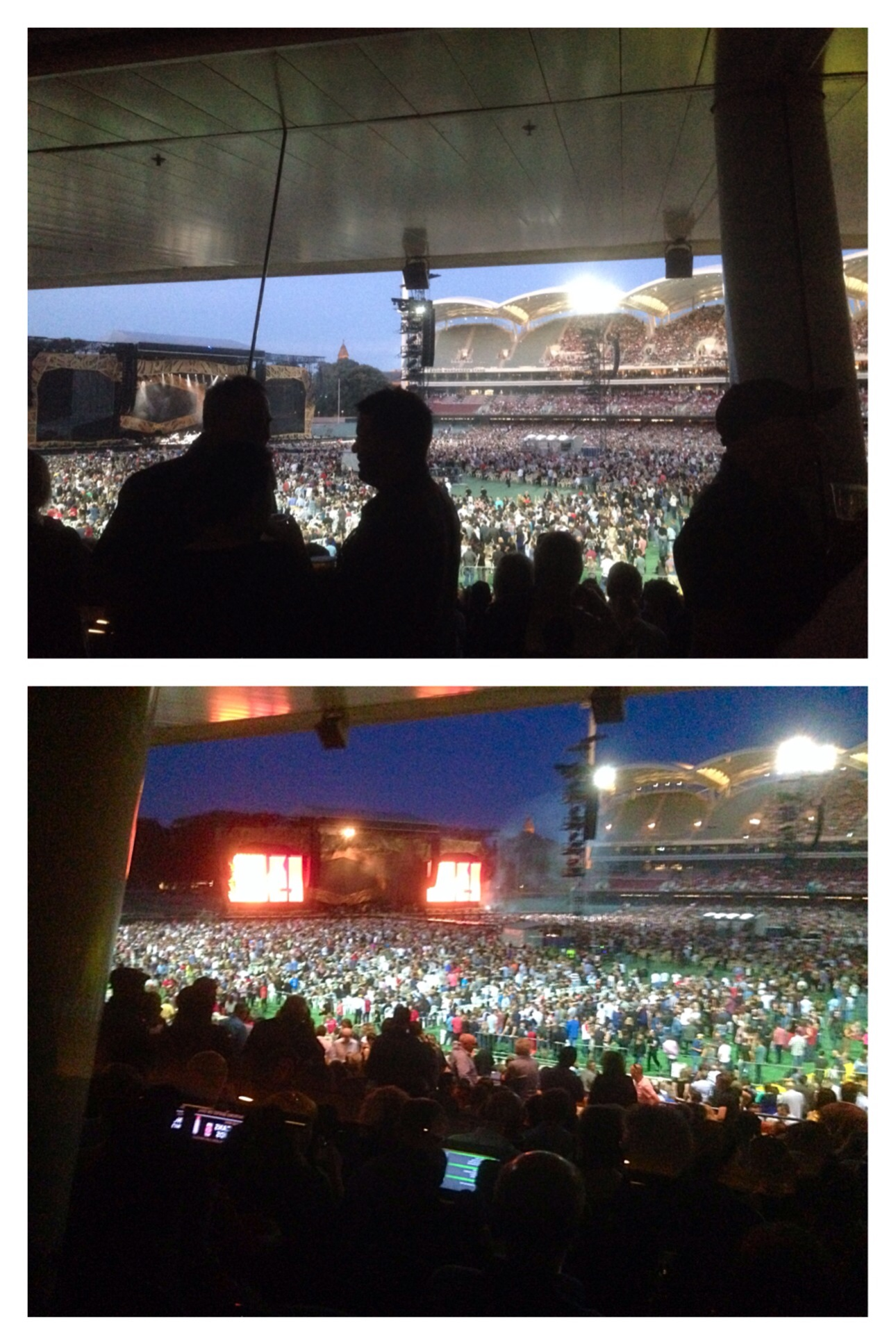 Rolling Stones at Adelaide Oval