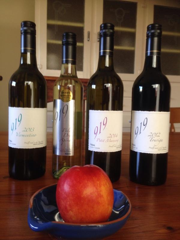 919 Wines, Berri, South Australia Riverland, Touriga, Vermentino, Petit Mesang