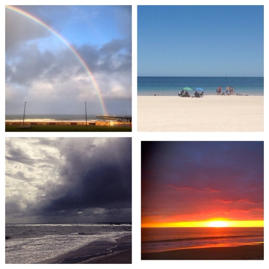 four seasons of beach, Glenelg