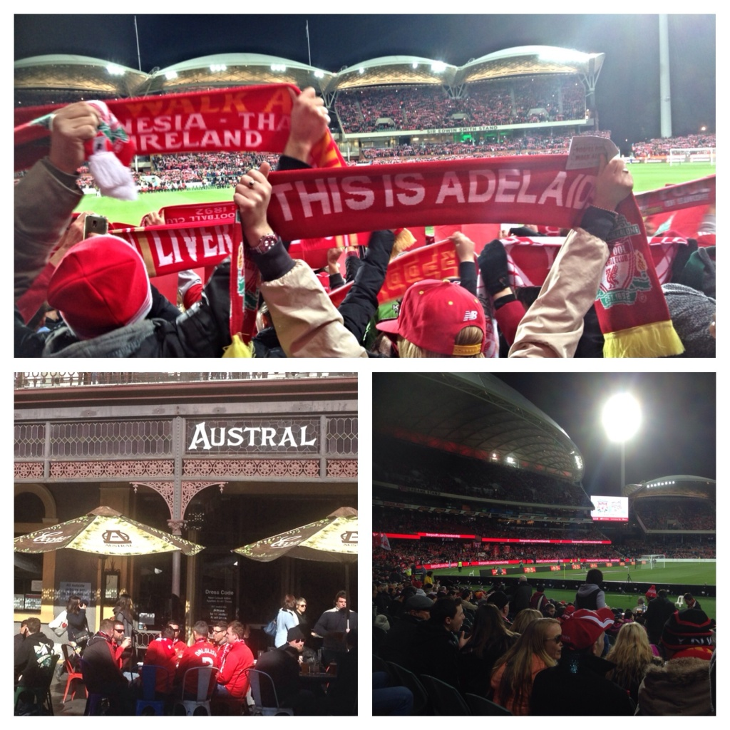 Liverpool FC, Adelaide United, Adelaide Oval