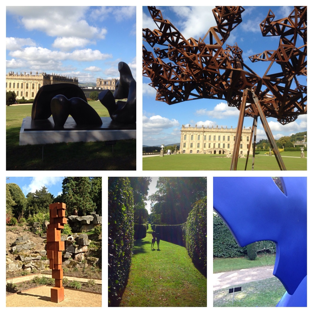 Beyond limits, Chatsworth house, sculpture