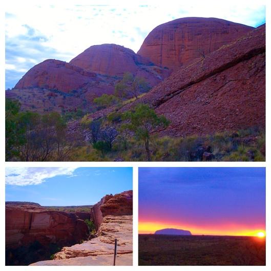 Kata TJuta, Uluru and Kings Canyon