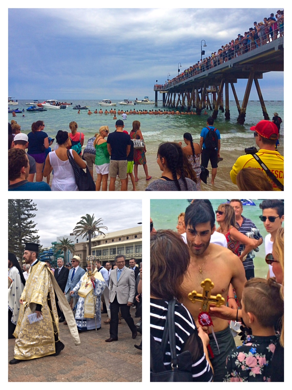 Greek Orthodox blessing of the waters, Glenelg