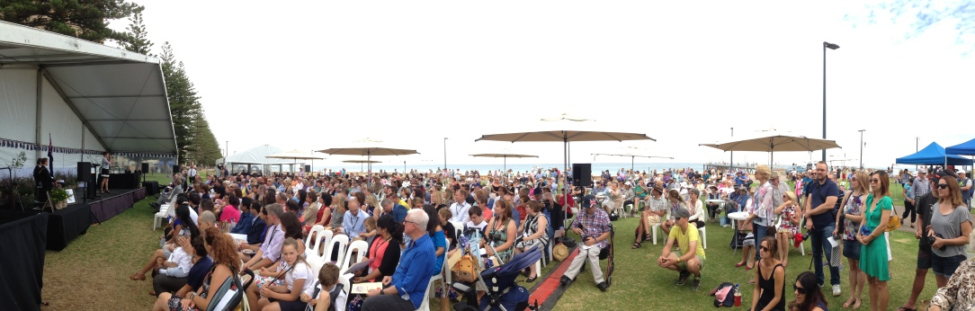 Australian citizenship ceremony, Glenelg