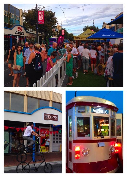 Tour Down Under street party Glenelg