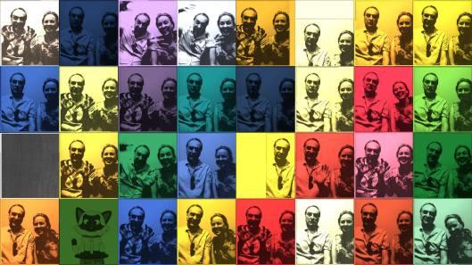 Andy Warhol parody