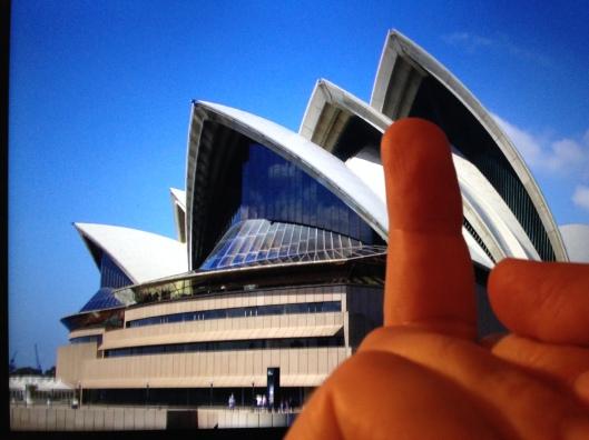 Ai Weiwei Sydney Opera House parody