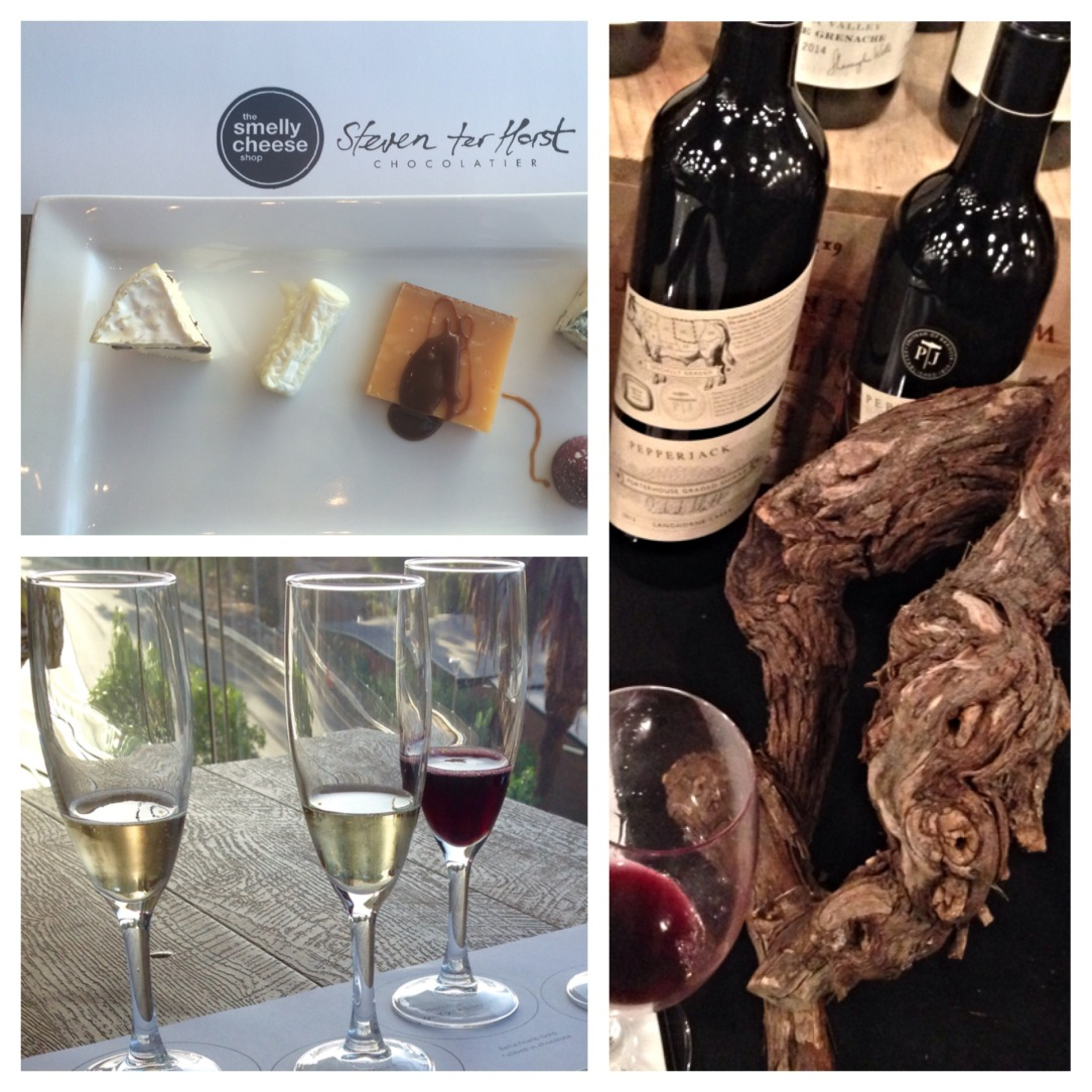 Cheese ,chocolate and champagne, Cellar Door Festival, Adelaide