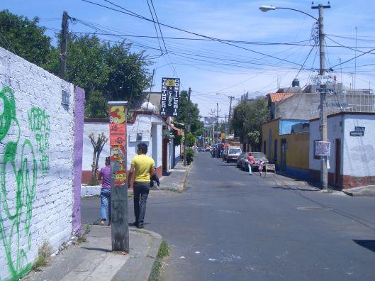 Xochimilco Street, Mexico City