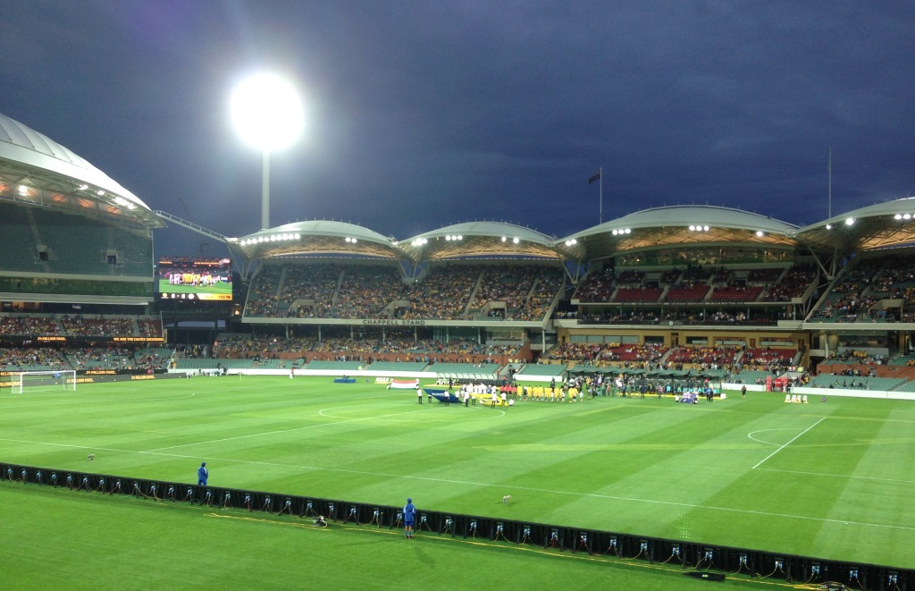 Socceroos, Adelaide Oval