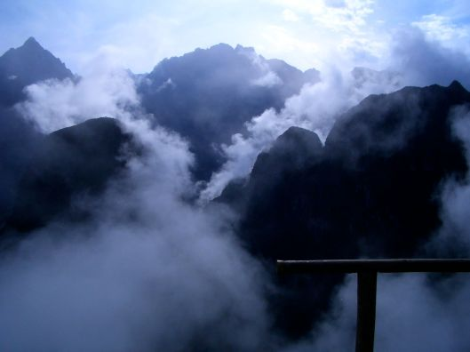 Machu Picchu mountains, Peru