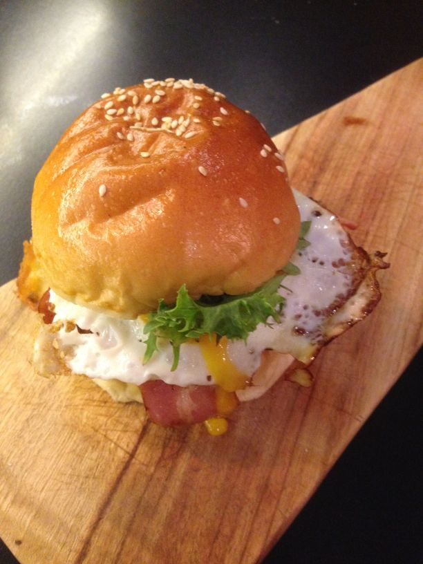 Pure breakfast slider