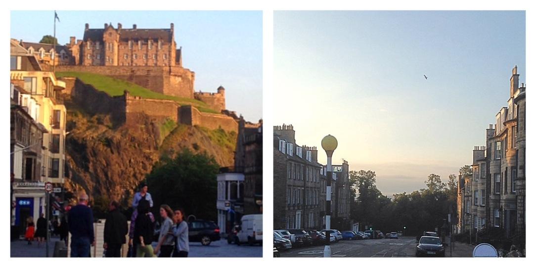 Edinburgh castle, Firth of Forth