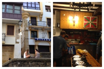 txoko, a private gastronomic society in San Sebastian's old tow