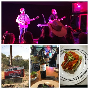 Mannum music, food and wine. Bowhill