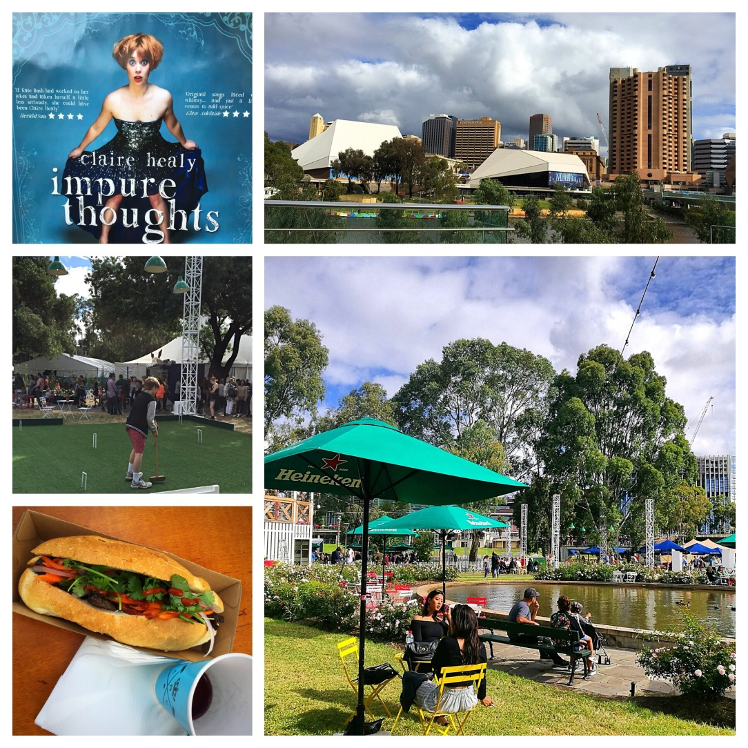 Royal Croquet Club, Adelaide skyline