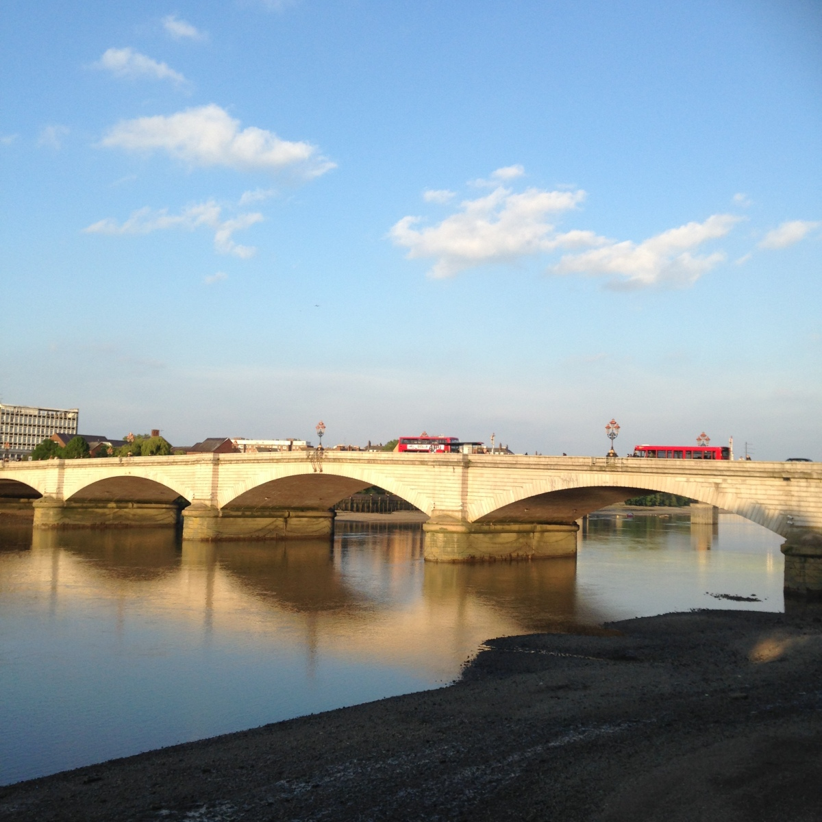 Look both ways XVII- Reflections on Putney Bridge