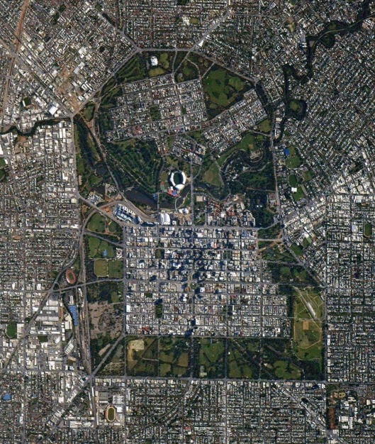 Adelaide from space