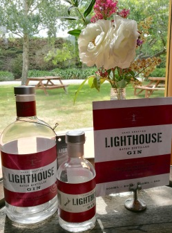 Lighthouse gin, Martinborough Vineyard