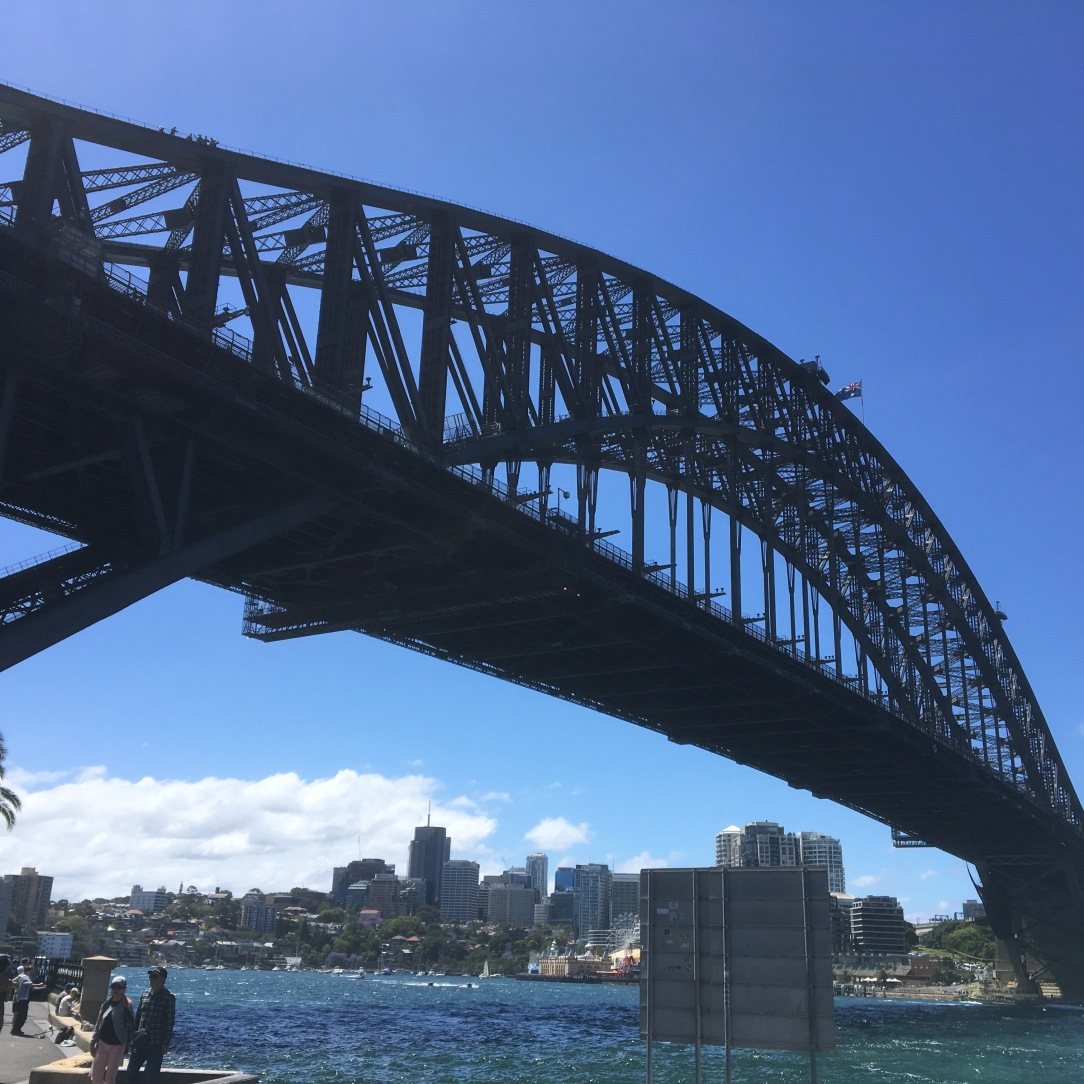 Sydney Harbour Bridge from Dawes Point