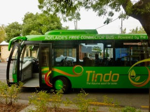 Tindo, Adelaide's solar powered bus