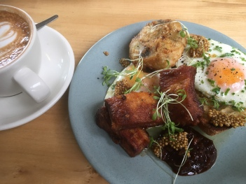 Brunch at Bestie, St Kevin's Arcade, K Road, Auckland