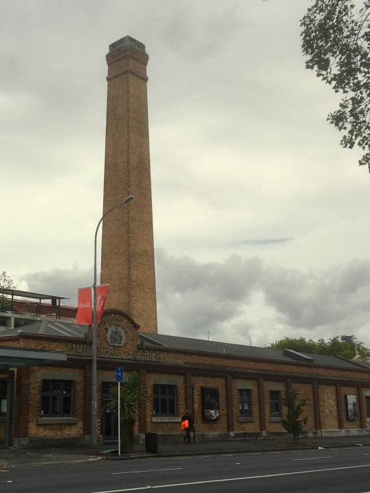 The Destructor chimney, Victoria Park Market, Auckland