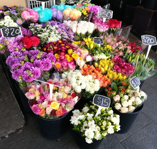 Balmain flower shop, Sydney