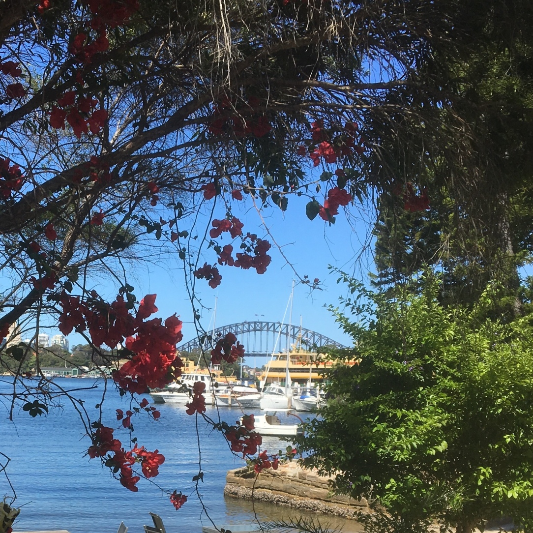 View from Balmain Pier, Sydney,New South Wales