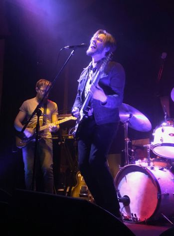 Adelaide's Wanderers, Dusty Stephenson on guitar and vocals