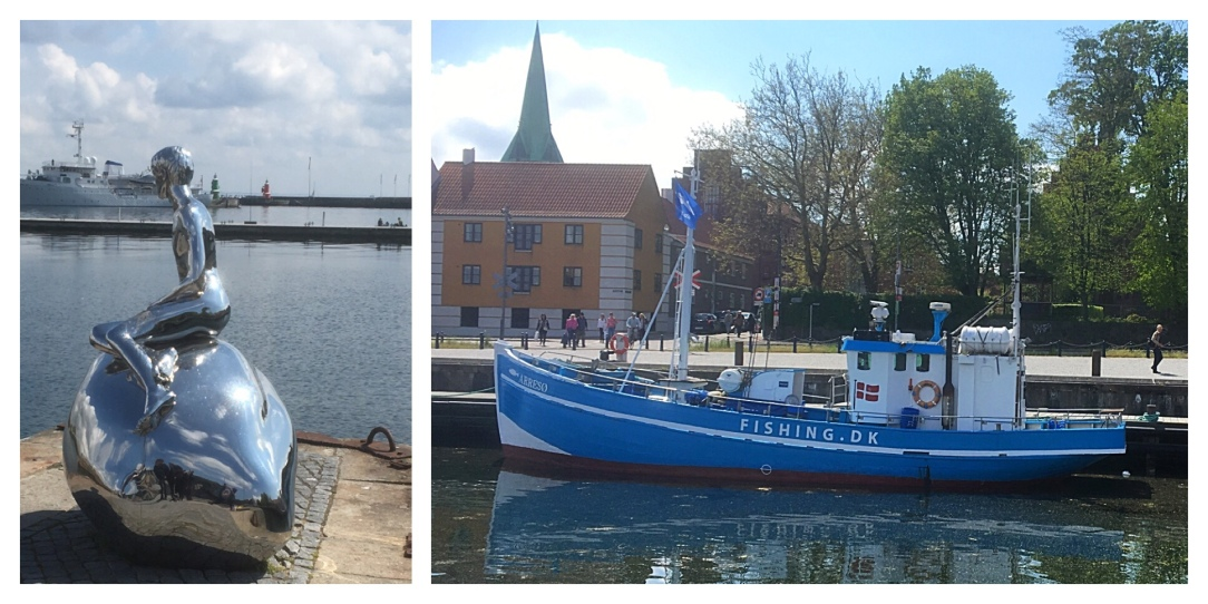 Helsingor, Elsinore, little mer-boy, Denmark