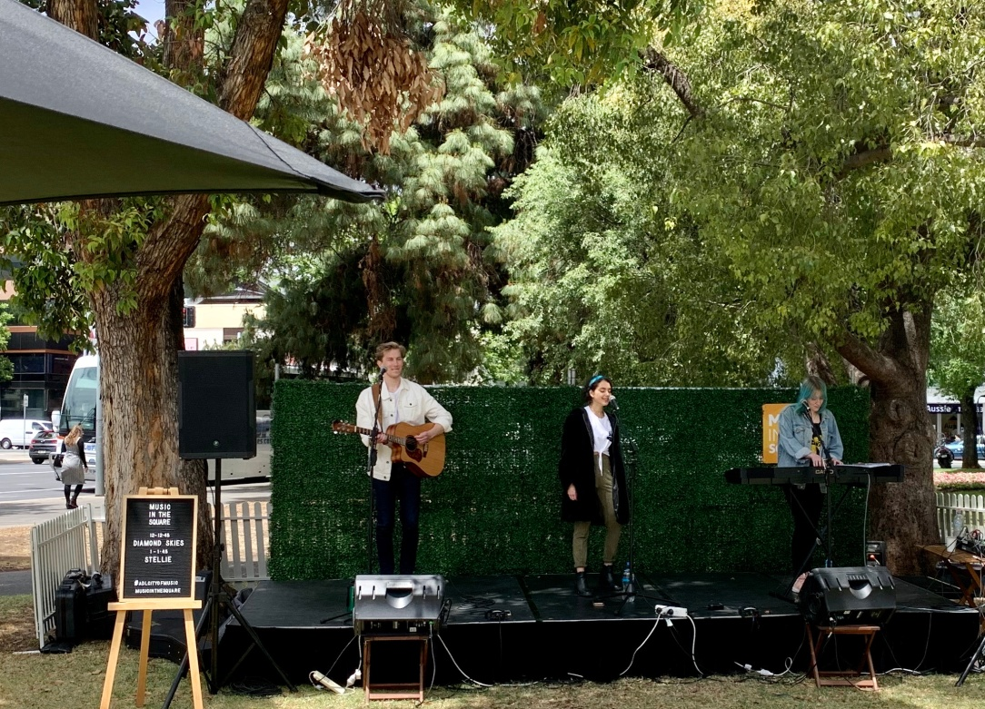 Music in the square, Adelaide UNESCO city of music